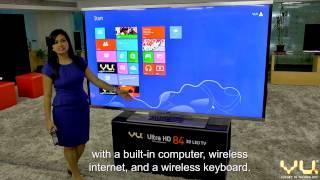 Vu 84-Inch Ultra 4K Super TV Demo