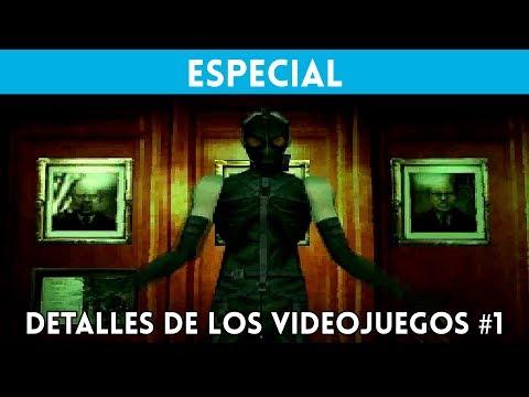 DETALLES de los VIDEOJUEGOS (Vol #1) - Curiosidades y secretos