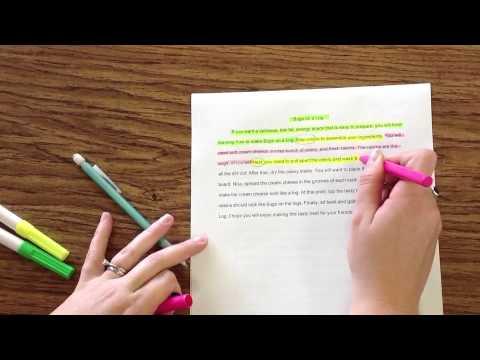 Видео Writing paragraphs