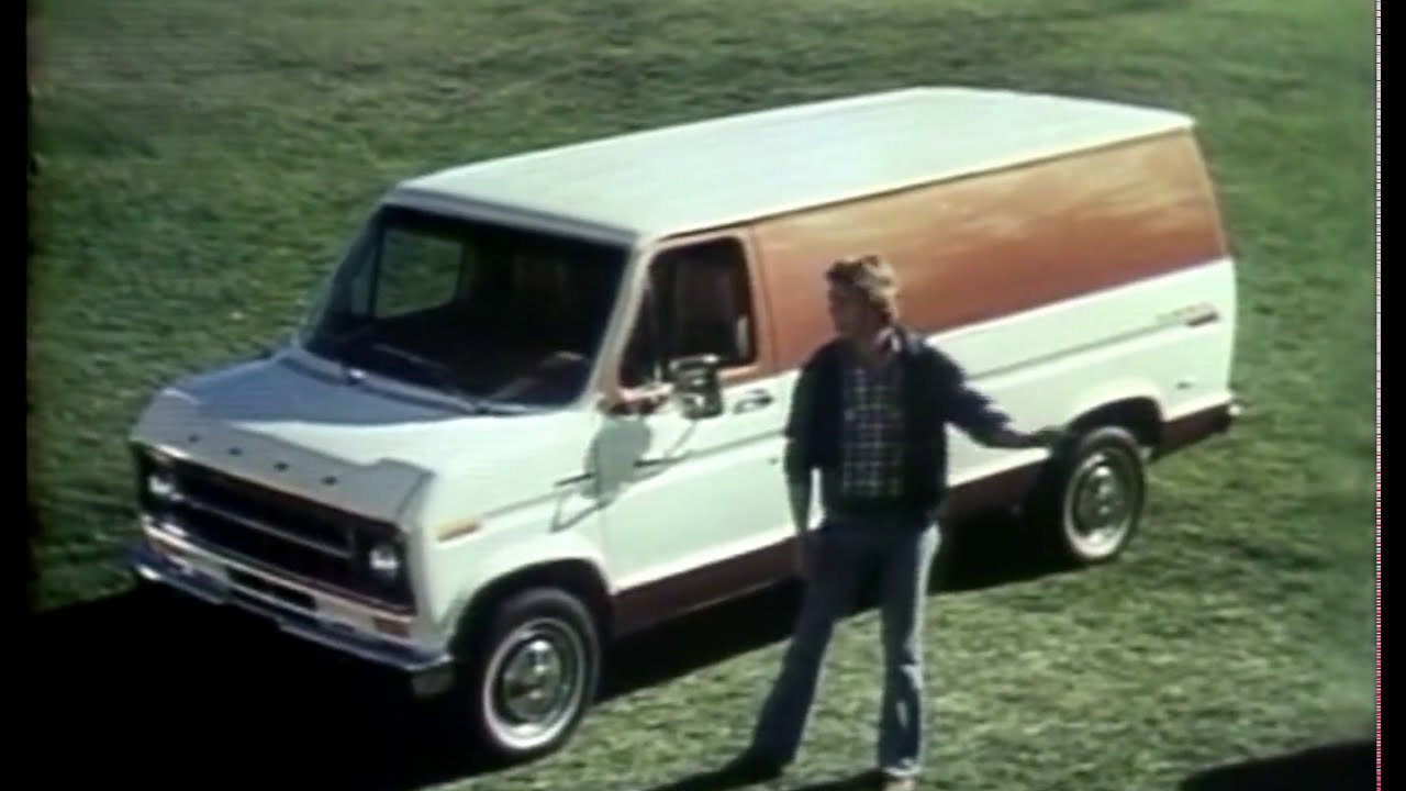 2 Cool 1976 Ford Econoline Van Commercials - YouTube