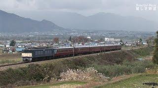 ゆとり(元サロンエクスプレス東京)+EF64-36号機 団臨信州を駆け抜ける!2006年頃 HDV 1051