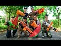 Battle Nerf War: Task Forces Nerf Guns Smugglers Group Funny Nerf Movies