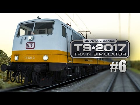 Train Simulator 2017 #6: BR 111 als Lufthansa-Express Berlin Leipzig: S1 incoming!