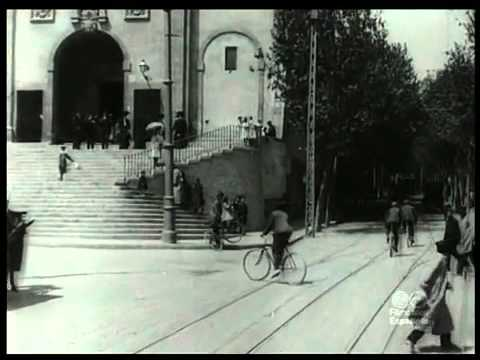 Barcelona tram ride 1908
