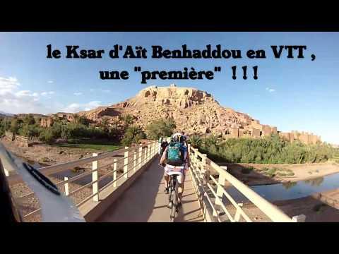 VTT Maroc Aït Ben Haddou vtt  maroc 2014