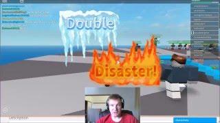 Rixspark7 plays ROBLOX Natural Disaster Survival 05 Lightning and Sandstorm hit Coastal Quickstop