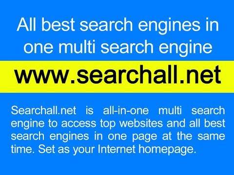 All-in-One Multi Search Engine - Top Search Engines in One Page - Lukkr