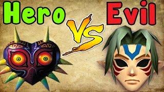 Zelda Theory - MAJORA is the HERO?! (zelda majora