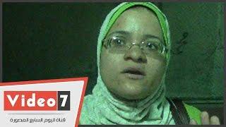 """بالفيديو.. مواطنة تطالب بنقل ورش """"صقر قريش"""" لعدم حدوث كارثة"""