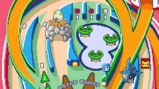 Pokemon Pinball - Ruby & Sapphire - Pokemon Pinball - Ruby  and  Sapphire (GBA) - Ruby Table Part 1 - User video