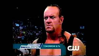 Commercial - The CW - WWE Friday Night Smackdown - The Undertaker's Wrath (2008-05-08)