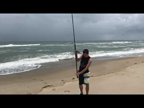Surf Fishing At OBX