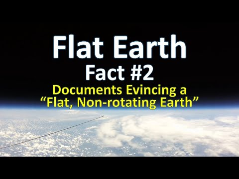 Flat Earth Fact #2 - Documents Evincing a