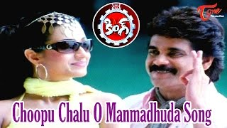 Choopu Chalu O Manmadhuda Song | King Movie | Akkineni Nagarjuna | Trisha