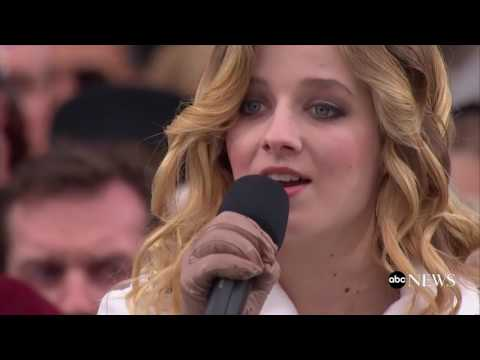 Jackie Evancho National Anthem At Trump Inauguration