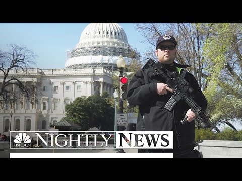 Gunman At U.S. Capitol Shot By Police, Taken Into Custody   NBC Nightly News