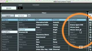 Cubase 6 104: Working With MIDI - 5 Creating and Recording an Instrument Track