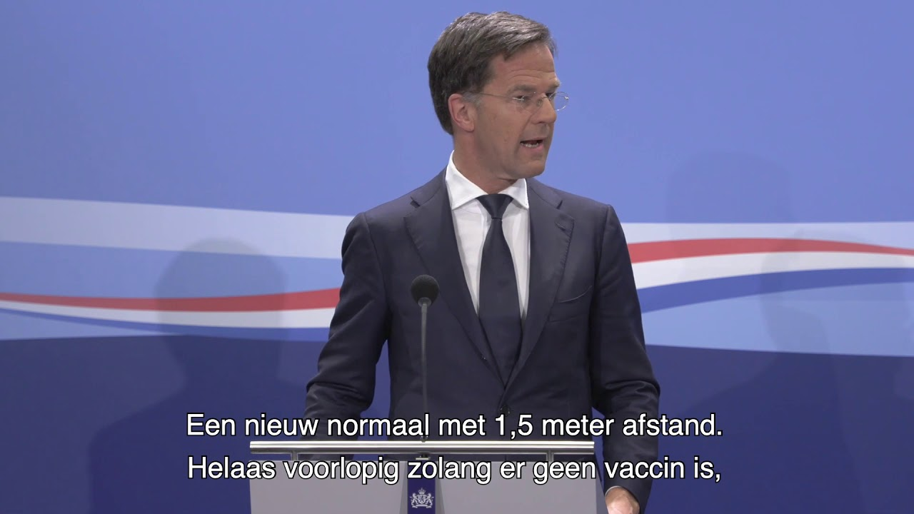 Statement Persconferentie MP Rutte Van 12 Juni 2020