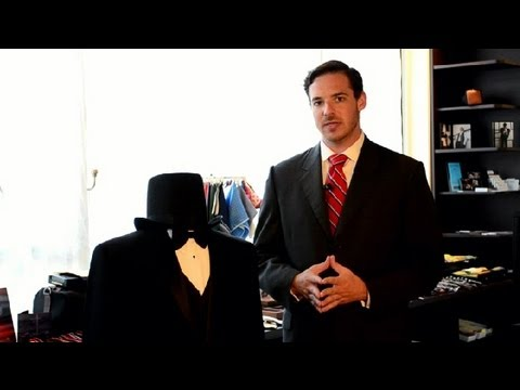 How to Wear a Black Suit : Men's Styling Advice - YouTube