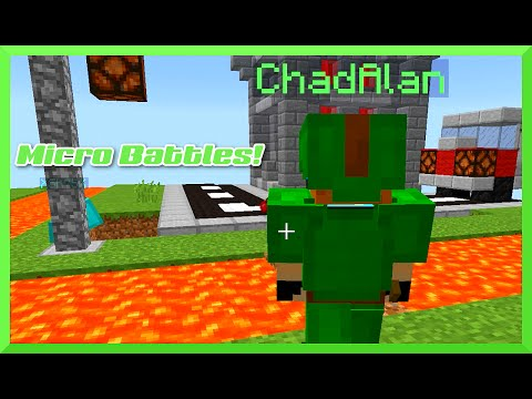 Minecraft Micro Battle with Gamer Chad