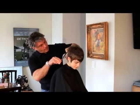 Sami Gayle Hair Cut Technique by Michael Pettine Part 1 duction