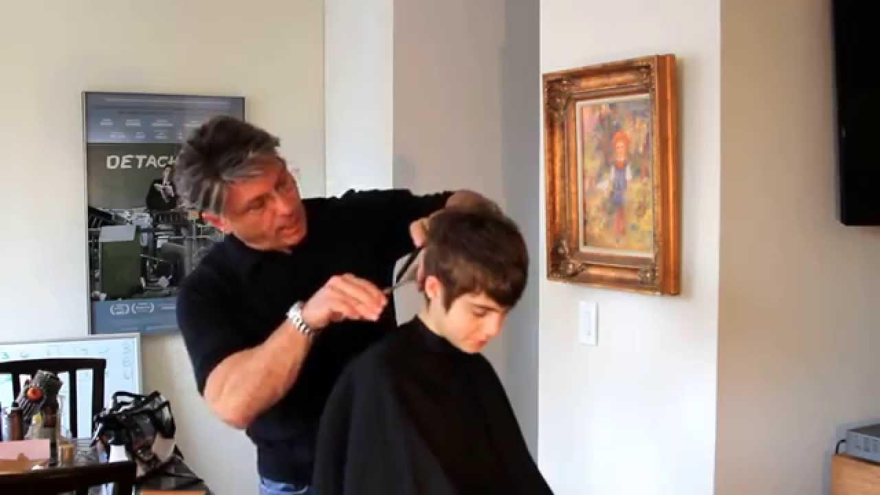 Sami Gayle Hair Cut Technique By Michael Pettine Part 1