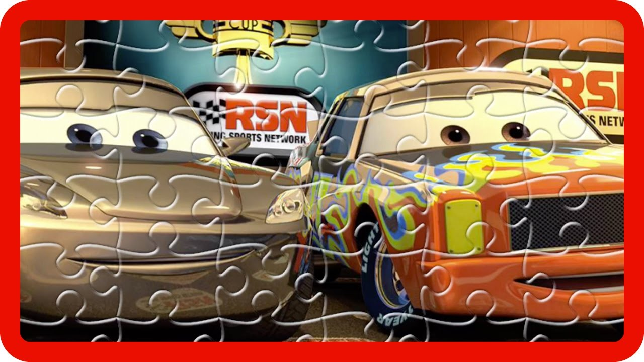 disney pixar cars jigsaw puzzle cars 3 jigsaw puzzles games for kids with nursery rhymes