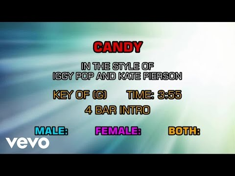 Iggy Pop, Kate Pierson - Candy (Karaoke)