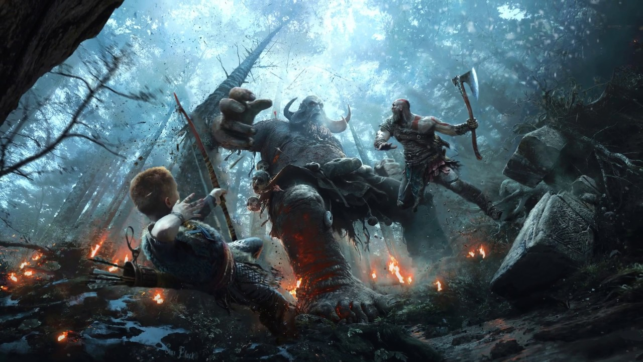 God Of War 2018 4k Wallpaper Engine Youtube