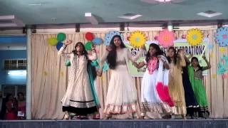 9th IIT & regular girls dance on 2014 15 farewell program. thumbnail