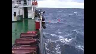 Тяжелый морской труд