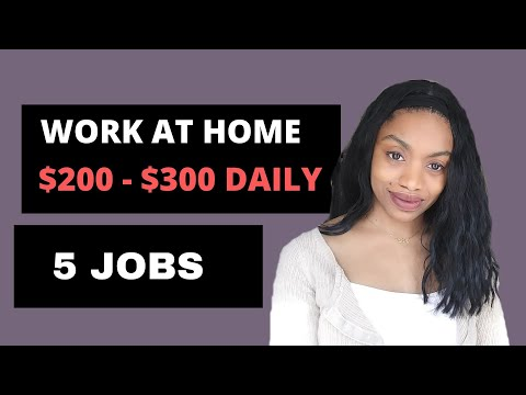 5 High Paying Work From Home Jobs Paying $18 - $30 Hourly (2019/2020)