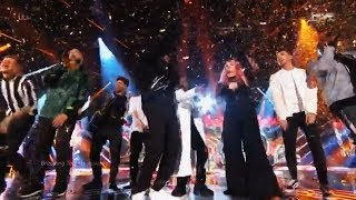 X Factor UK 2017 Winner Rak-Su as Winner Sing Dimelo (Their First Single) and Celebrate