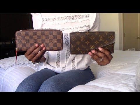 ee04d6a25536 Louis Vuitton Sarah Vs Clemence Wallet Pros Cons