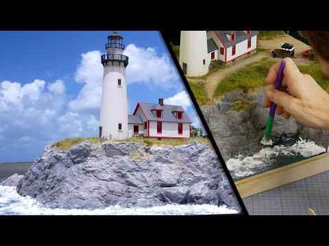How to Build an Amazing Seaside Diorama – Realistic Scenery Vol.14