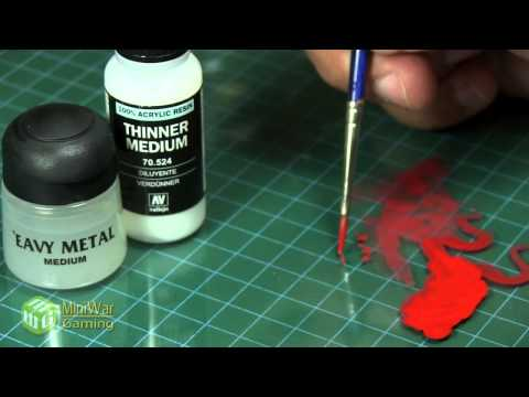 Quick Tips: Thinning Paint