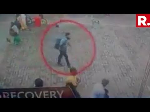 Sri Lankan Media Accesses CCTV Footage Of Alleged Suicide Bomber Walking Into St Sebastian Church