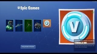 I OBTIENT 2000 V-BUCKS GRACE A PACK ON FORTNITE BATTLE ROYAL SAISON 7