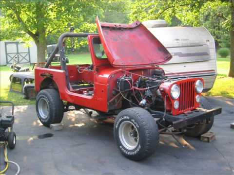 A Jeep...From Death to Life. CJ7