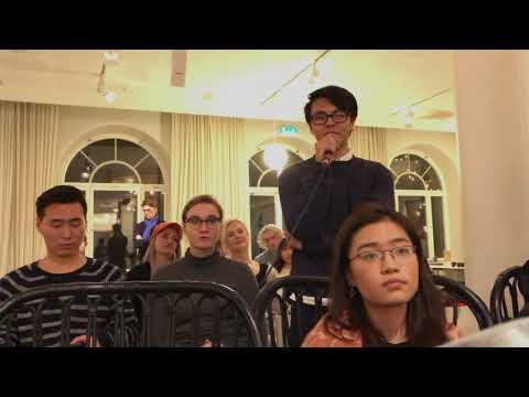 Q&A part in Lund University