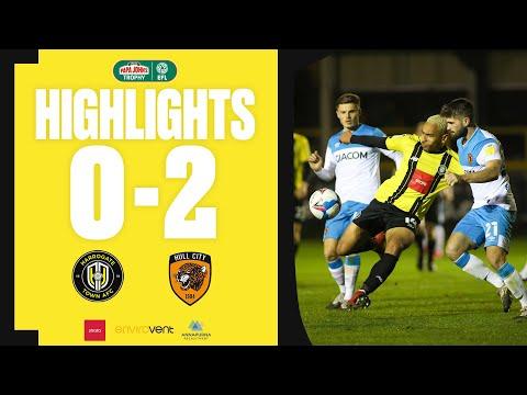 Harrogate Hull Goals And Highlights