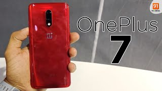 OnePlus 7: First Look | Hands on | Price | [Hindi हिन्दी]