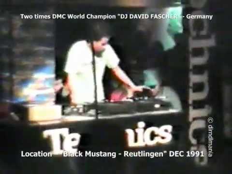 DJ David Fascher Show 1991 Black Mustang - Reutlingen