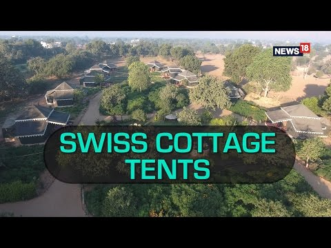 Ditch Hotels For These Luxurious Swiss Cottage Resort Tents