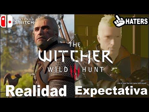 Realidad vs Expectativa   The Witcher 3 en Switch una aberración de Port o cierra muchas bocas?