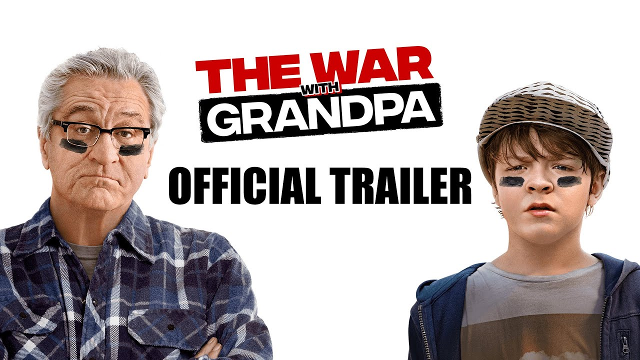 War with Grandpa trailer met Robert De Niro
