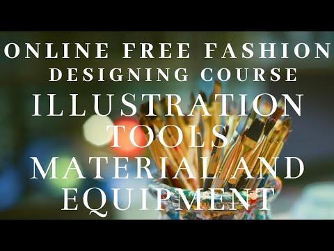 Fashion Designing Tools Equipment Idesignfashion Youtube