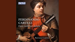 Guitar Sonata, Op. 81, No. 3: I. Allegretto - Tema - Variazioni
