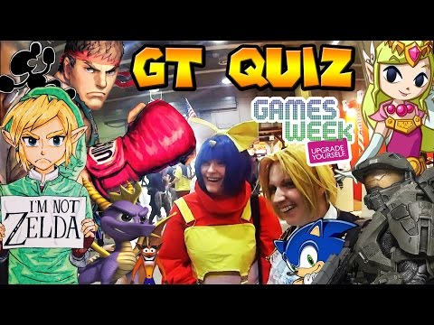 Milano Games Week 24-25 Ottobre - GT QUIZ feat. Cosplayers!