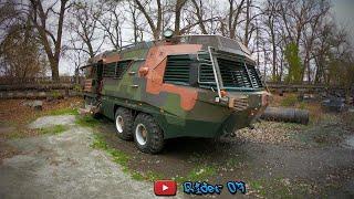 БТР. Автомобиль для Зомби Апокалипсиса. Автомобиль Амфибия